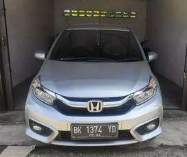 Jual beli Honda Brio matic Satya E cvt tahun 2019