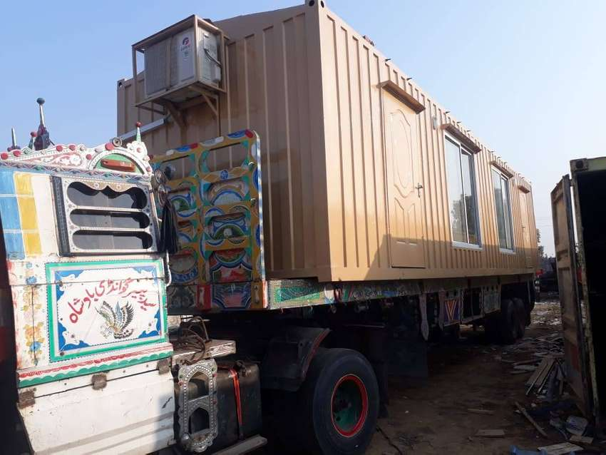 security cabins site camp container available for sale in Lahore 0