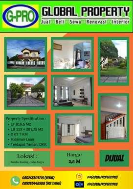 Dijual Rumah Mewah Tengah Kota Luas Tengah Pusat Perdagangan