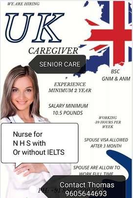 SENIOR CARE NURSES AND STAFF NURSE FOR UK