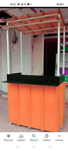 Gerobak Container Usaha Es