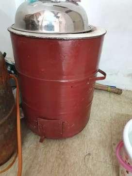 Tandoor for kulhad tea