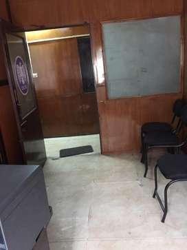 100sqft furnishd office for rent in subhash road.