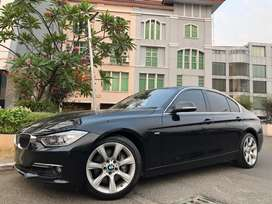 BMW 335i Luxury 2014 Black On Saddle Tan Km10rb Antik 306Hp V6 3.0cc