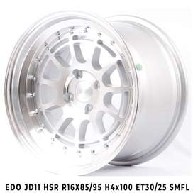 velg hsr plaju EDO JD11 HSR R16X85/95 H4x100 ET30/25 SMFL