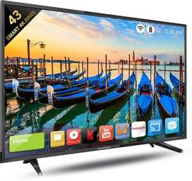 SONY PANEL 42'' SMART ANDROID 4K LED TV 10999/- ORDER NOW !