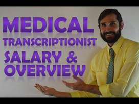 Medical Transcriptionist experienced