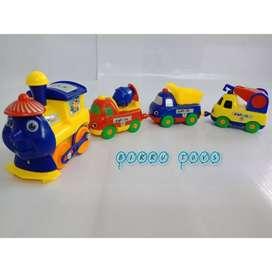 Mainan Kereta Api Thomas Konstruksi Play Train | Kereta Magnet Murah