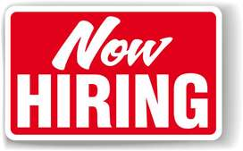 Helper/ Supervisor/Sales  Executives- Permanent jobs- Salary upto 40K