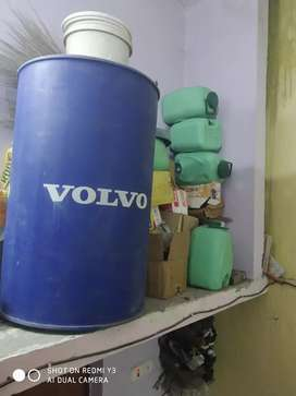 Drum 210 ltr (₹700) and 15 ltr (₹50)