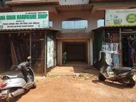 Shop for sale at sankhali shop no 2 Rock garden residency on main road