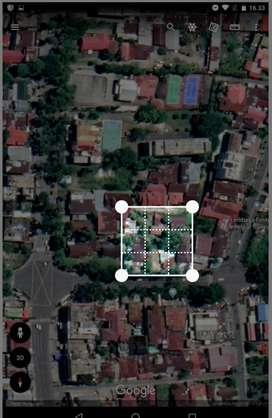 Di jual sebidang tanah Di pusat Kota padang Sumatra barat