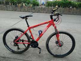 Imported Ferrari  cycle ( aluminium cycle )