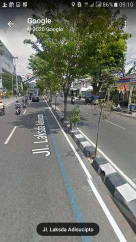 Di Jual Tanah MURAH Mangku Jl.Laksda Adi Sucipto Yogyakarta
