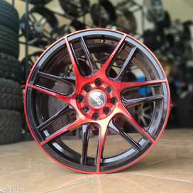 Velg racing murah ring 17 city jazz Mobilio Livina Sigra Avanza