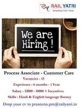 Associate-Customer Care