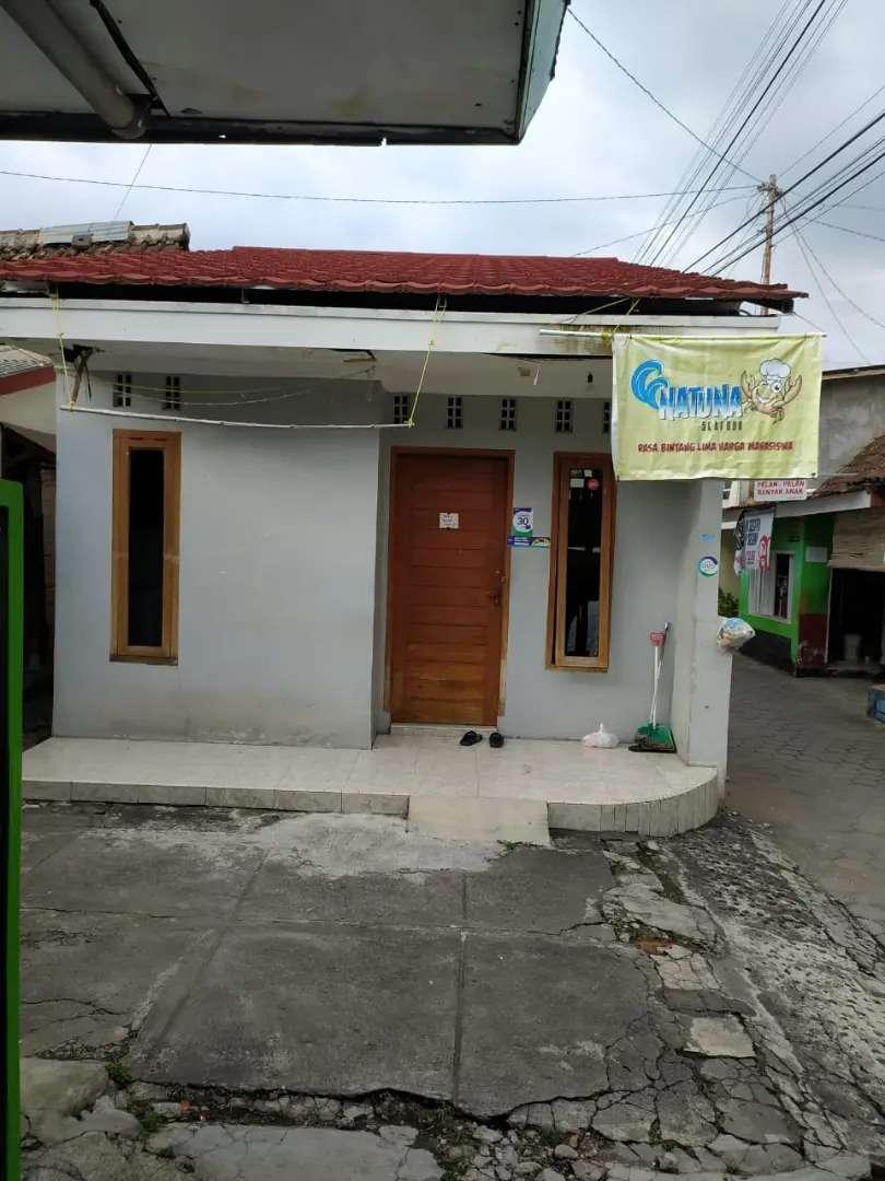Rumah ditengah pusat kota Jogja cocok buat kontrakan mobil  masuk