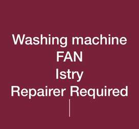 Washing Machine & Fan Repairer