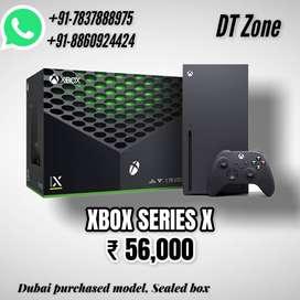 XBOX SERIES X - New Generation Console - 8K, sealed box - dubai model