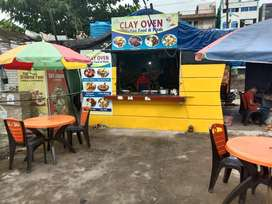 Fast food center for rent at patia