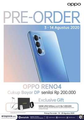 Open Pree Order Oppo Reno4 dan dapatkan giftbox Oase senilai 1 juta