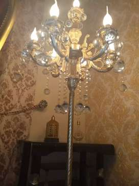 Floor lamp golden