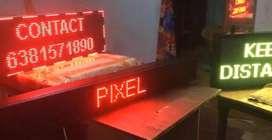 LED SIGN led panel pixel lighting