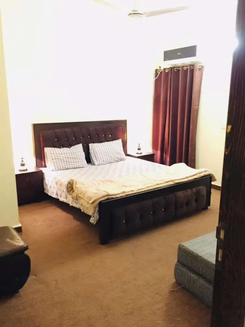 One Bed Appartment  furnished available per day rent 0