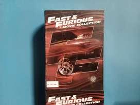 DVD Series Fast Furious 1-7 Original Segel