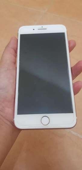 Iphone 7+ 128gb Garnsi Resmi Ibox Warna Rose Gold