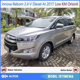 Innova Reborn 2.4 V Diesel At 2017 Low KM Orisinil Bisa Kredit
