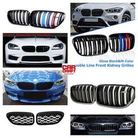 BMW Bumper M grills for all models