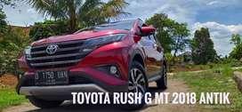 Toyota rush G mt 2018 1,5