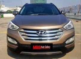 Hyundai Santa Fe 2.4 Limited 2013 Istimewa Full Service Record #mbb01