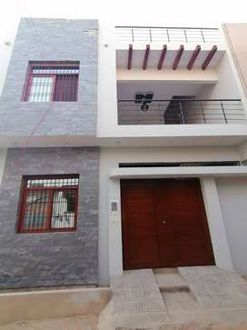 beautiful 120 yards double story house block-5, saadi town