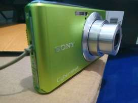 Camera Digital Camdig Sony Cybershot Dsc-W530 Green (100% mulus)