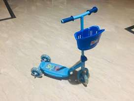 Kids scooty for sale. As good as new.