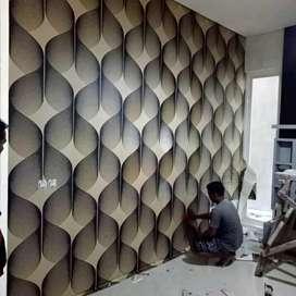 Wallpaper dinding wallpaper elegant DL413
