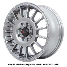forum ARROW JD803 HSR R15X65 H8X100-114,3 ET45 SMG