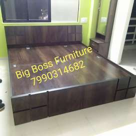 Latest Design Brand New King Size Double Bed