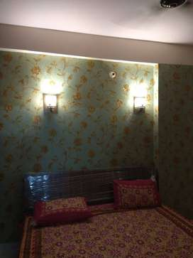 VERY LUXURIOUS FURNISHED 90% LONABLE FLATS