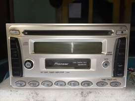 Head unit tape double din pioneer original copotan kijang krista