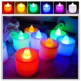 Lilin LED rainbow
