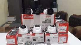 Camera cctv 2mp/5mp indoor/outdoor lengkap murah