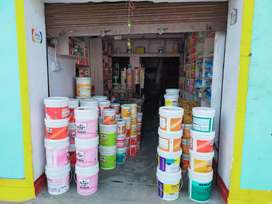 Paints shop