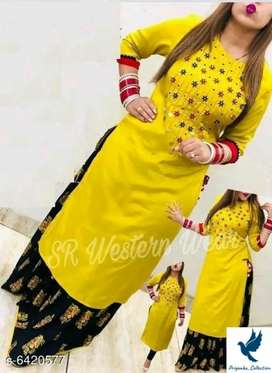 Beautiful women kurta set
