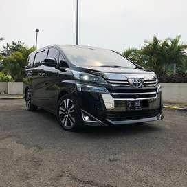 Toyota Vellfire 2.5 G ATPM AT 2018 Facelift Hitam