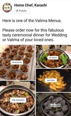 Marriage Valima Catering