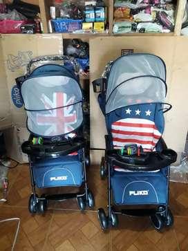Jual stroller Pliko bisa 3 fungsi & gratis ongkir