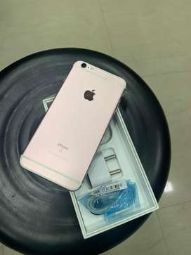 Iphone 6s plus 64gb 1year old new condition 2month wararnty with charg